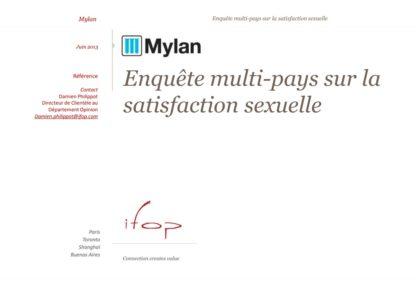enquete multi pays sur la satisfaction sexuelle