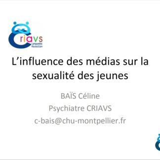 l influence des medias sur la sexualite des jeunes